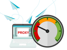 What influences the operational speed of proxy