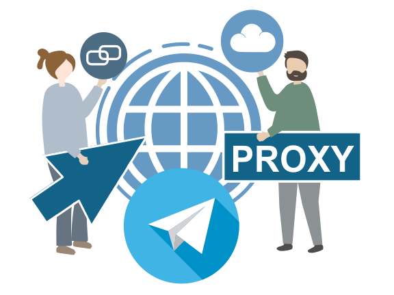 Socks 5 proxy for Telegram